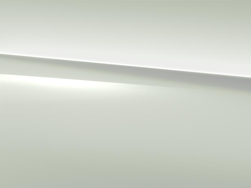 Vue de trois quarts de profil de la Mercedes CLA avec la peinture Standard blanc polaire
