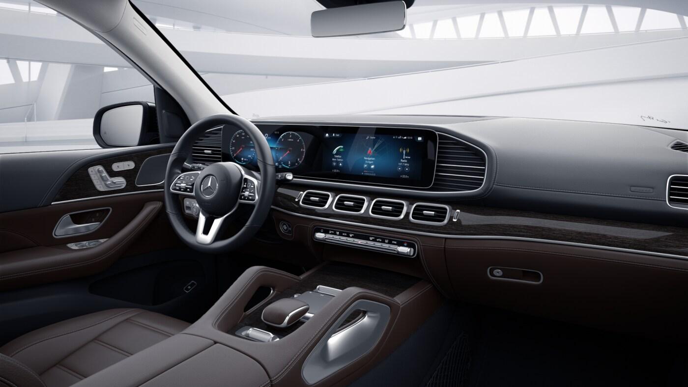 Intérieur de la Mercedes GLS - Finition Luxury