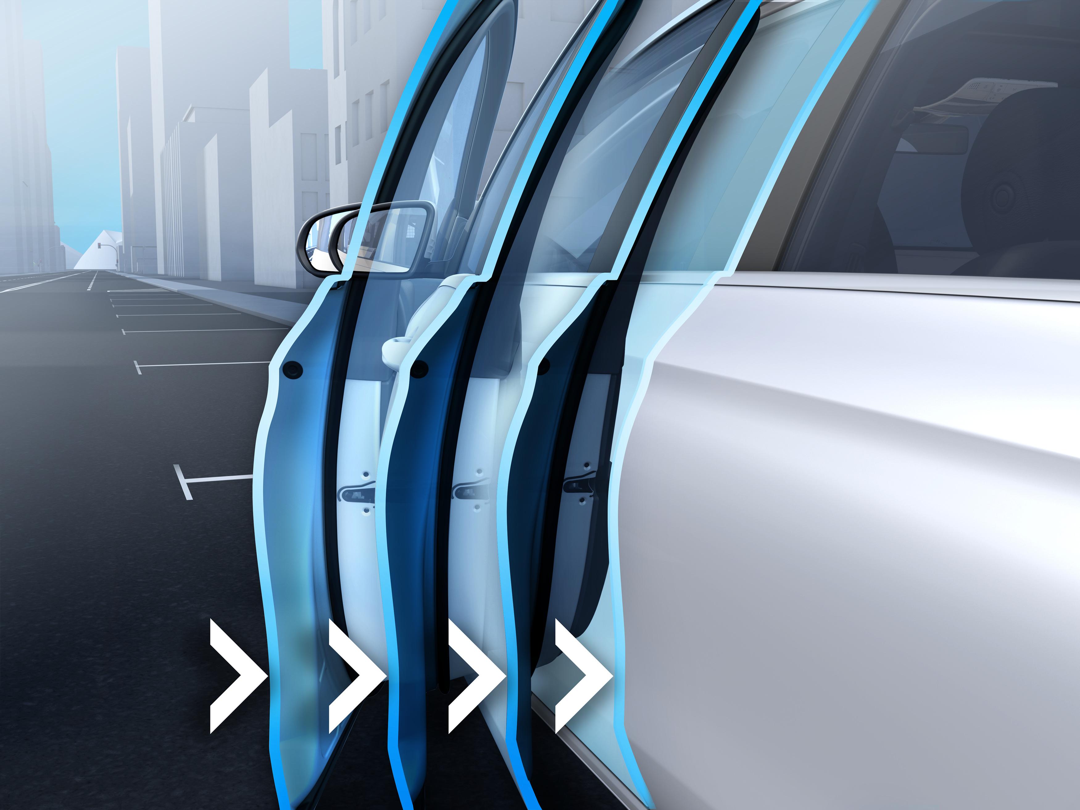 Fermeture De porte assistée de la Mercedes GLS, Finition AMG Line