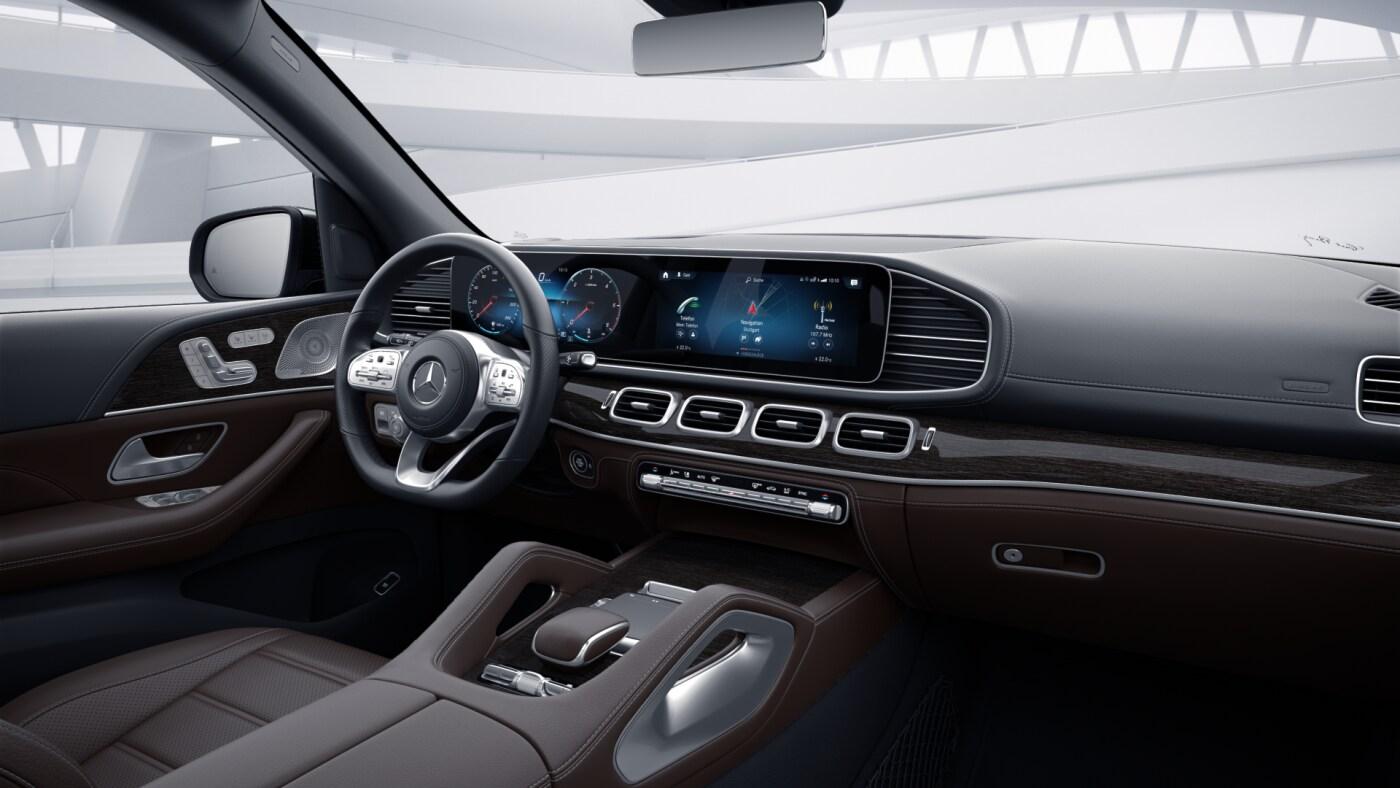 Intérieur de la Mercedes GLS - Finition AMG Line Plus