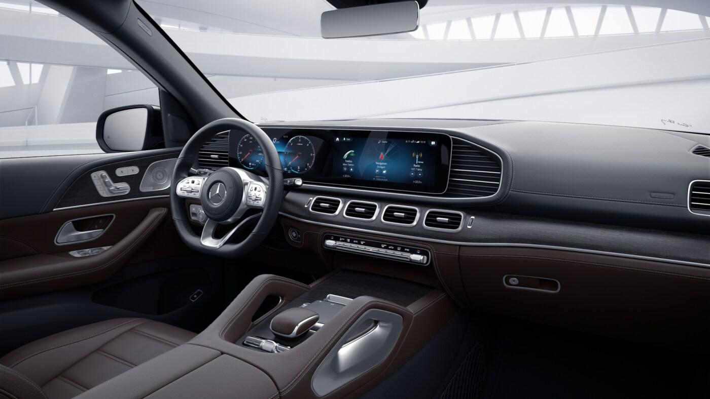Intérieur de la Mercedes GLS - Finition AMG Line