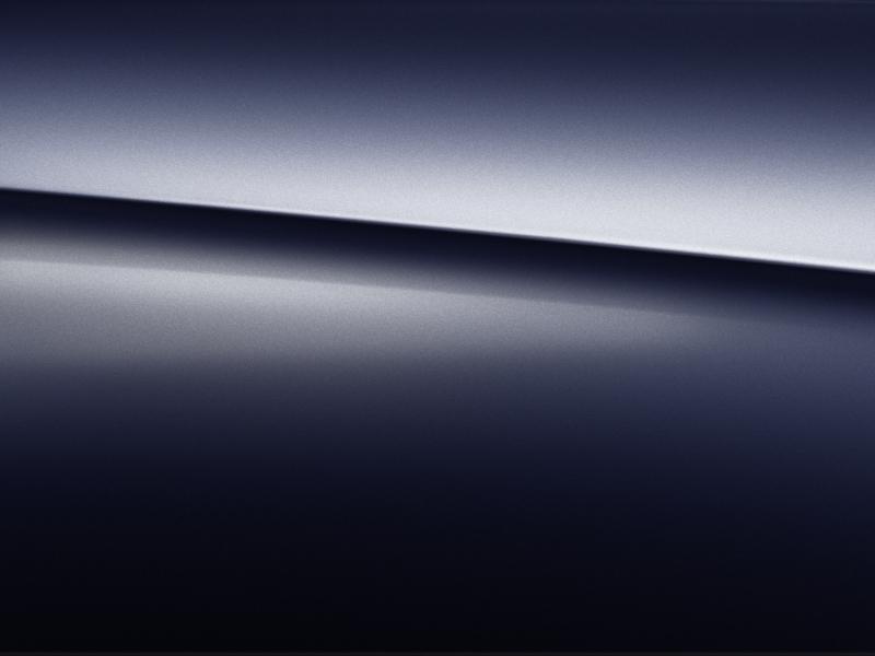 Vue de trois quarts de profil de la Mercedes GLE avec la peinture Métallisé - bleu cavansite