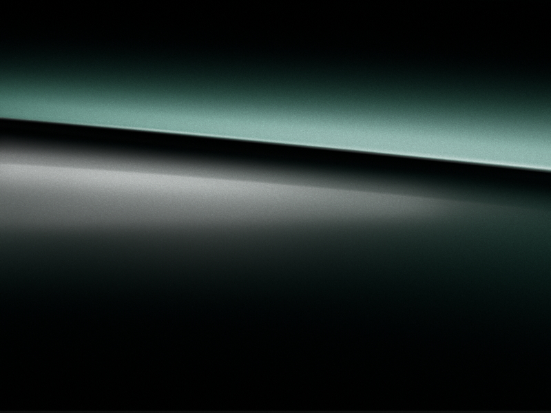 Vue de trois quarts de profil de la Mercedes-Benz GLS avec la peinture Métallisé Vert Emeraude