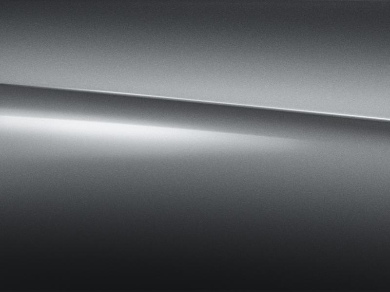 Vue de trois quarts de profil de la Mercedes-Benz classe G avec la peinture Métallisé Gris Sélénite