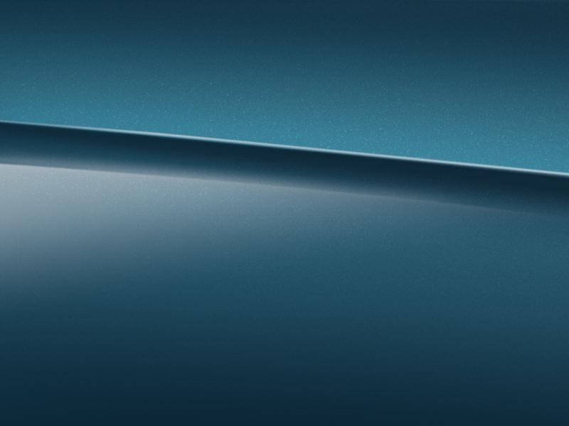 Vue de trois quarts de profil de la Mercedes-Benz classe G avec la peinture métallisé - bleu marin métallisé G manufaktur