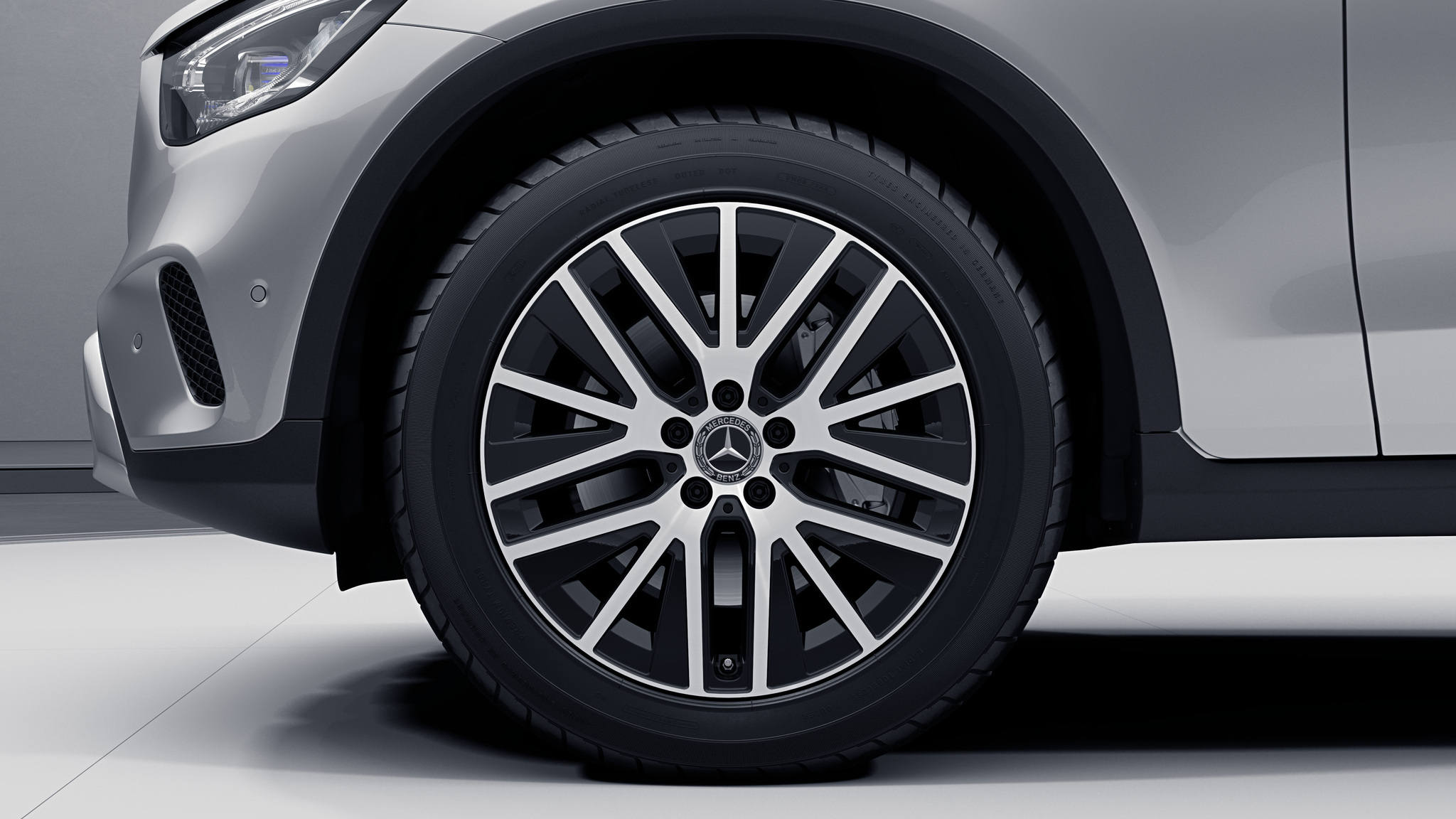 Jantes de la Mercedes-Benz GLC Finition 4 Matic Avantgarde