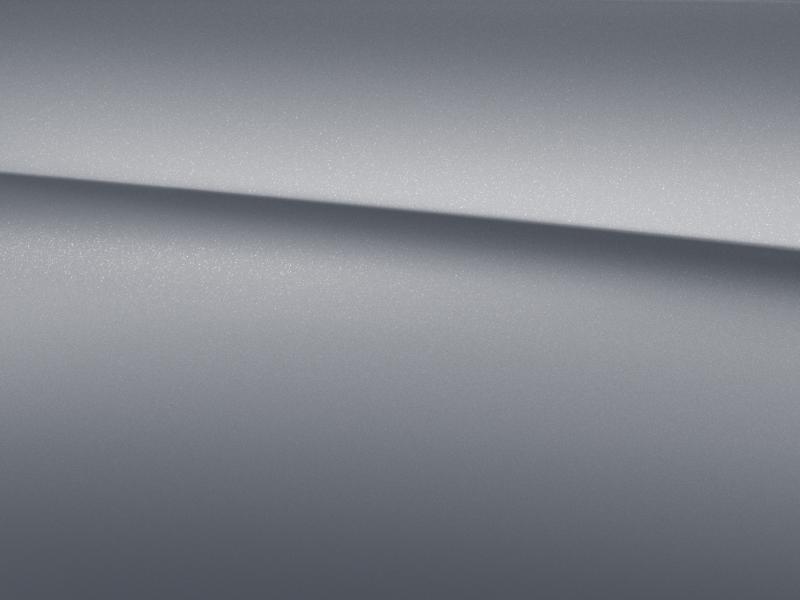 Vue de trois quarts de profil de la Mercedes-Benz classe G avec la peinture magno - Platine magno G manufaktur