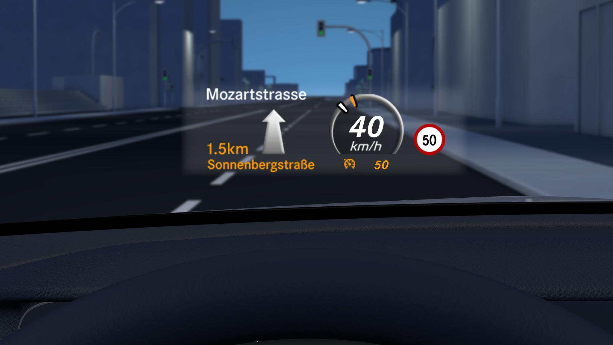 Pilotage de régulation de distance de la Mercedes GLC - Finition AMG Line Plus