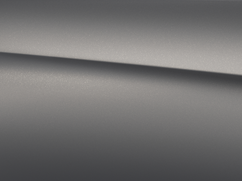 Vue de trois quarts de profil de la Mercedes-Benz classe G avec la Peinture magno - Gris Monza magno G manufaktur