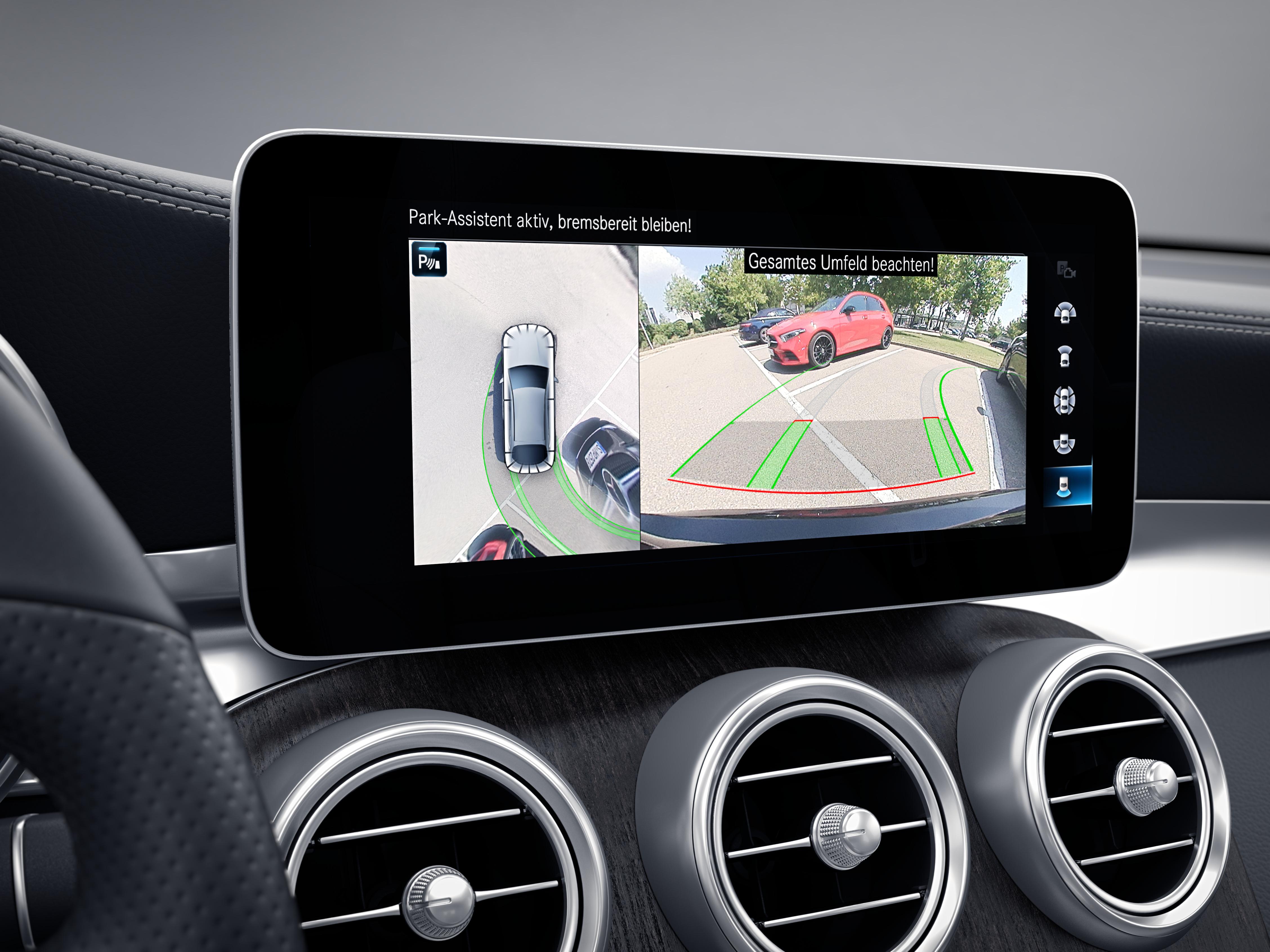 Écran tactile de la Mercedes GLC Coupé - Finition AMG Line Plus