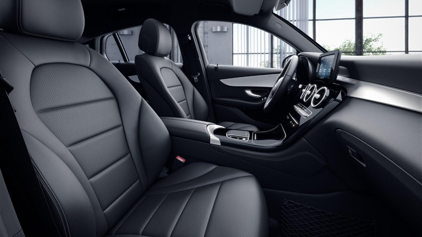 Intérieur de la Mercedes GLC Coupé - Finition Avantgarde