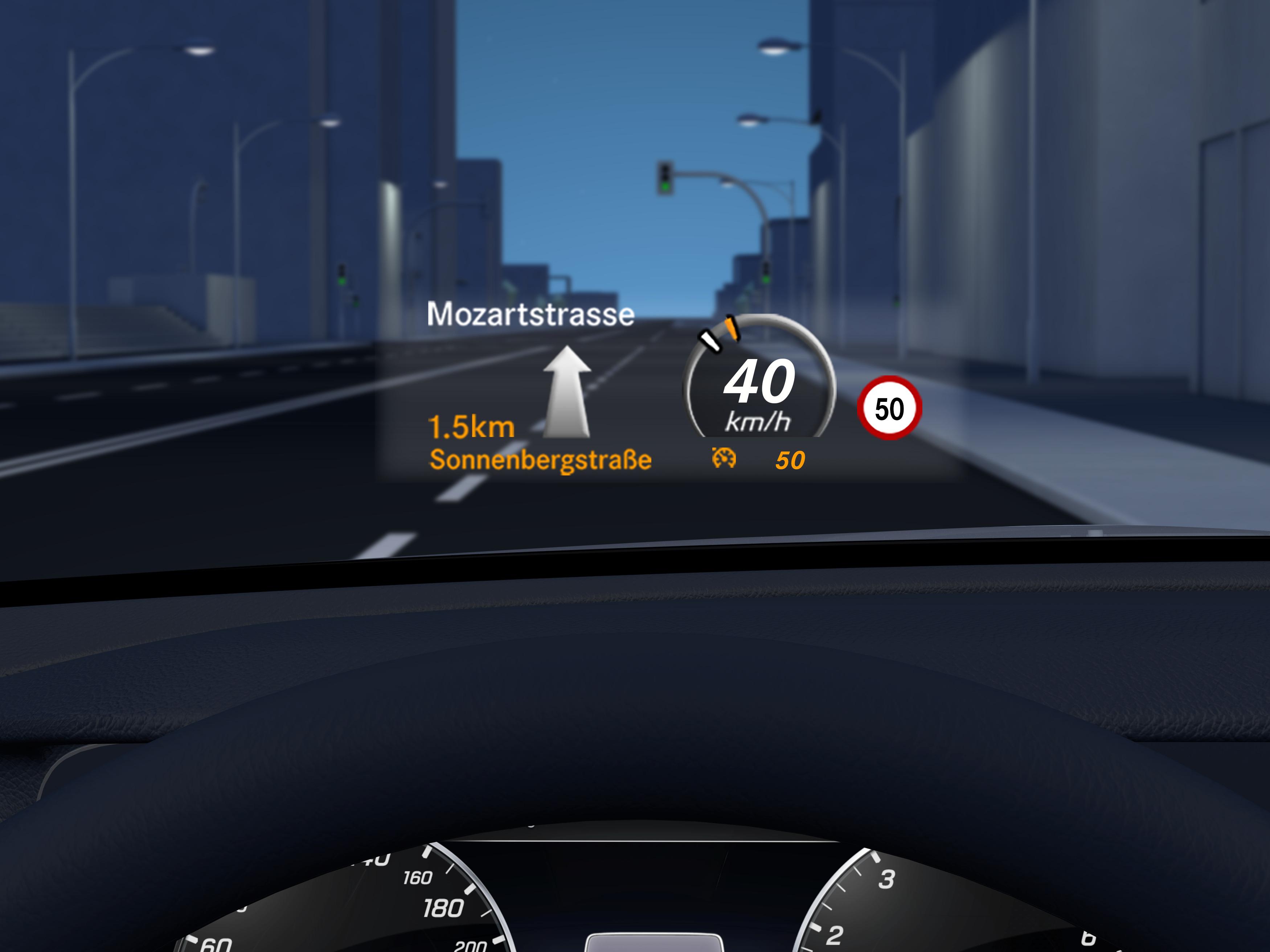 Pilotage de régulation de distance de la Mercedes GLC Coupé - Finition AMG Line Plus
