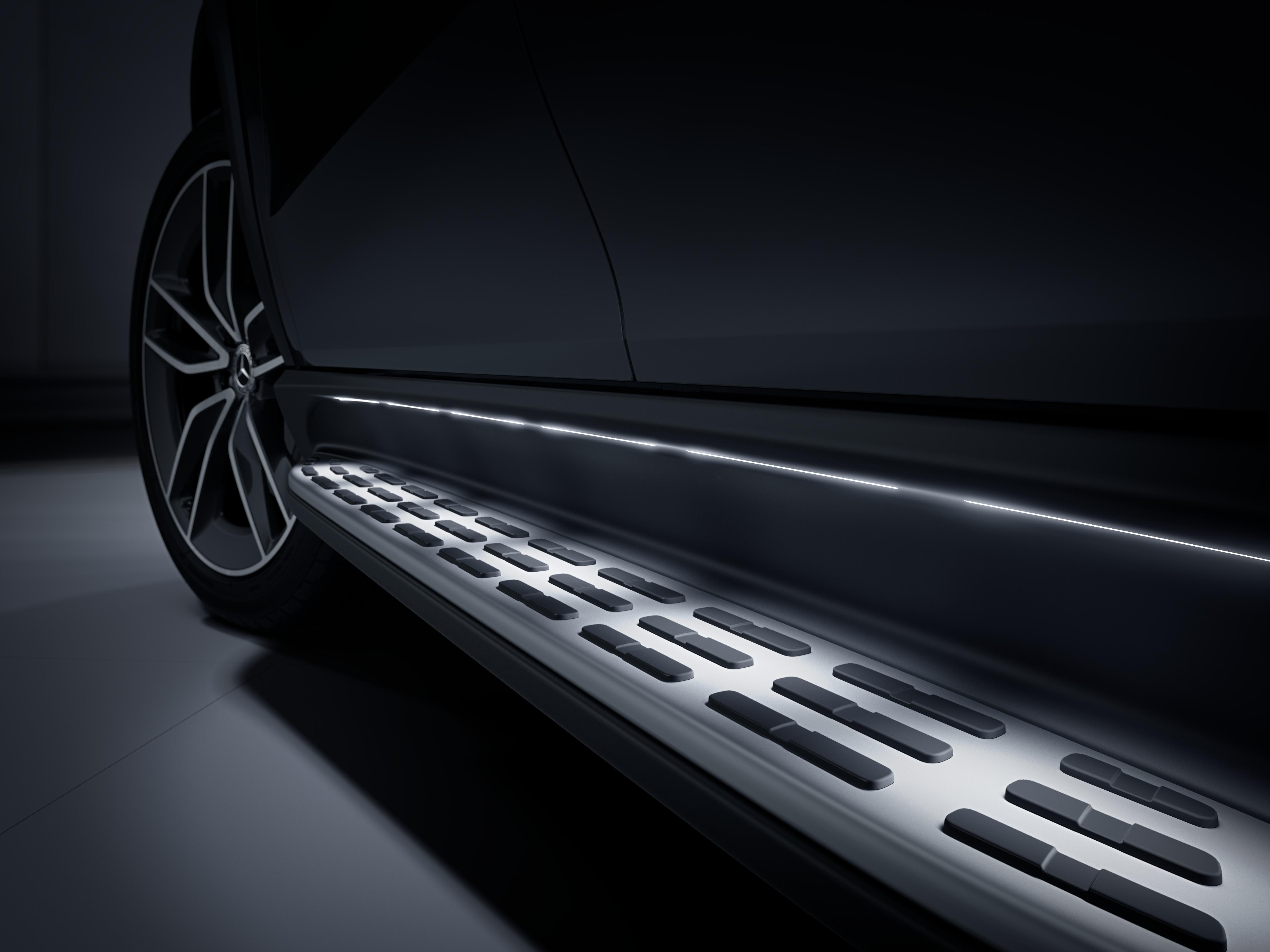 Seuil de porte de la Mercedes-Benz GLE Luxury