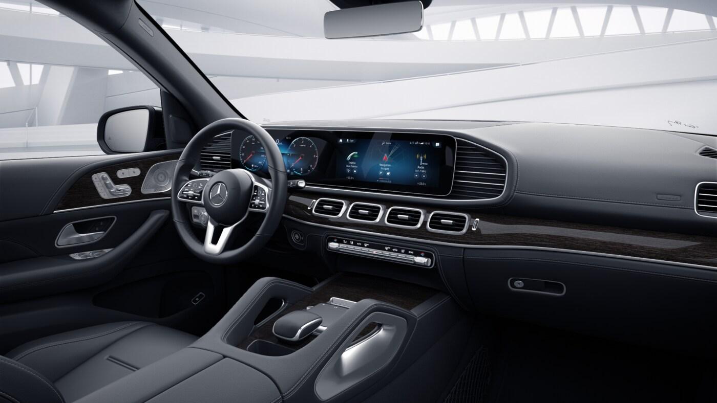 Phares de la Mercedes GLE Finition AMG Line Plus