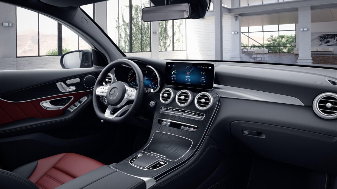 Intérieur de la Mercedes GLC Coupé - Finition AMG Line Plus