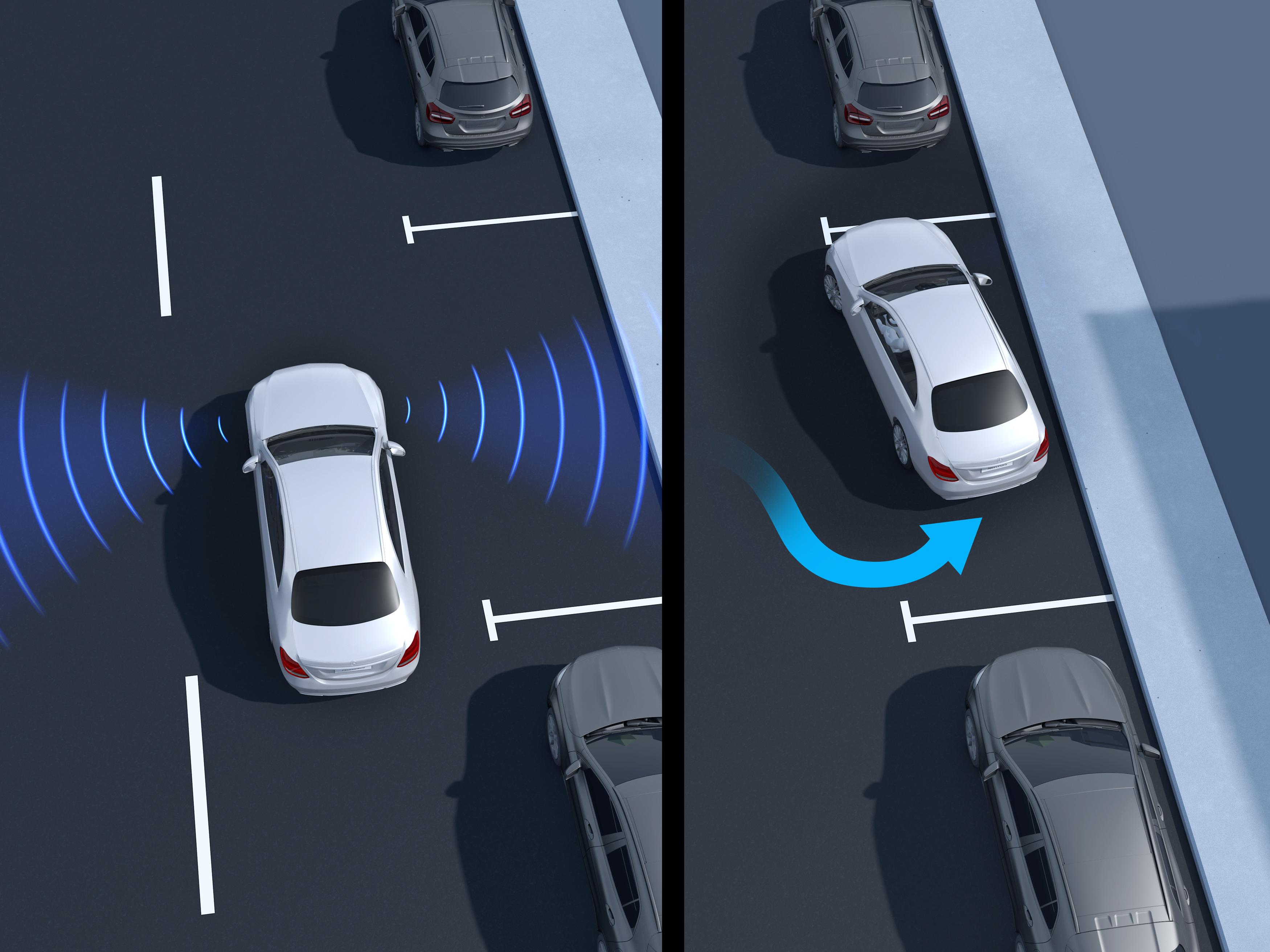 Stationnement Automatique de la Mercedes GLC Coupé - Finition Avantgarde