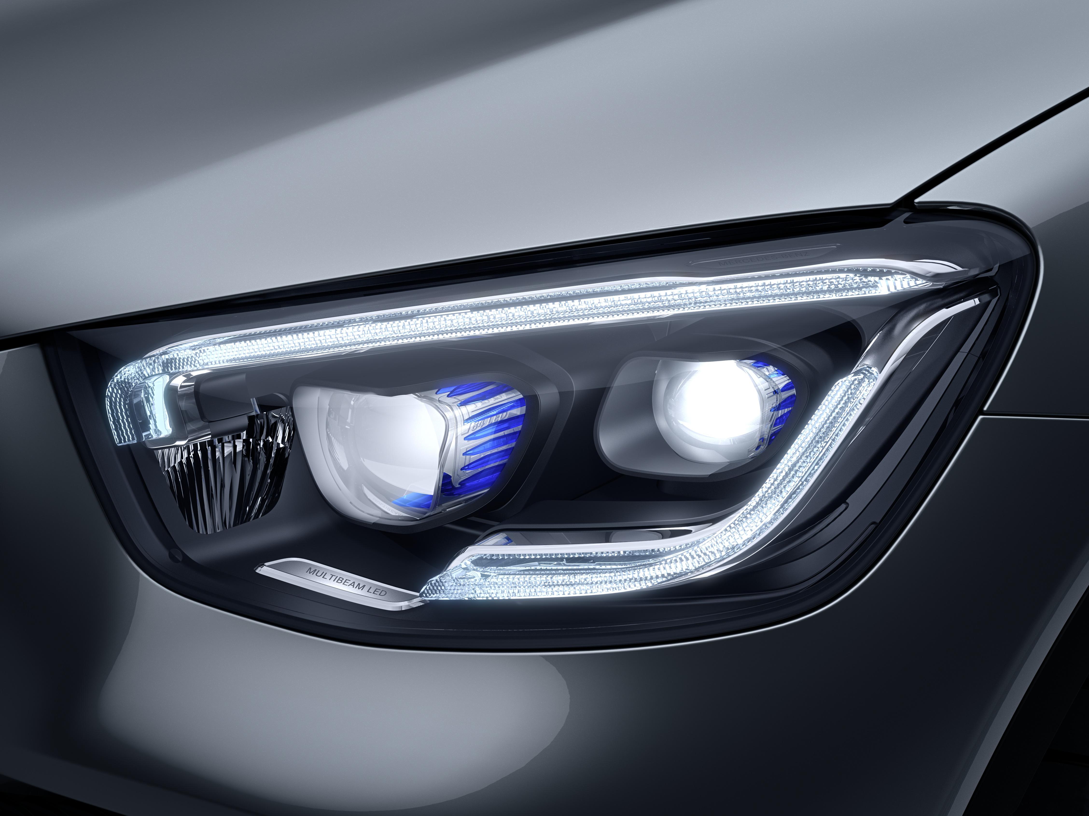 Phares de la Mercedes GLC Coupé - Finition AMG Line Plus