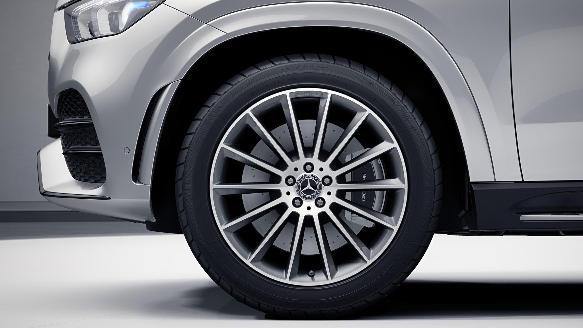 Jantes de la Mercedes-Benz GLE Finition AMG Line Plus