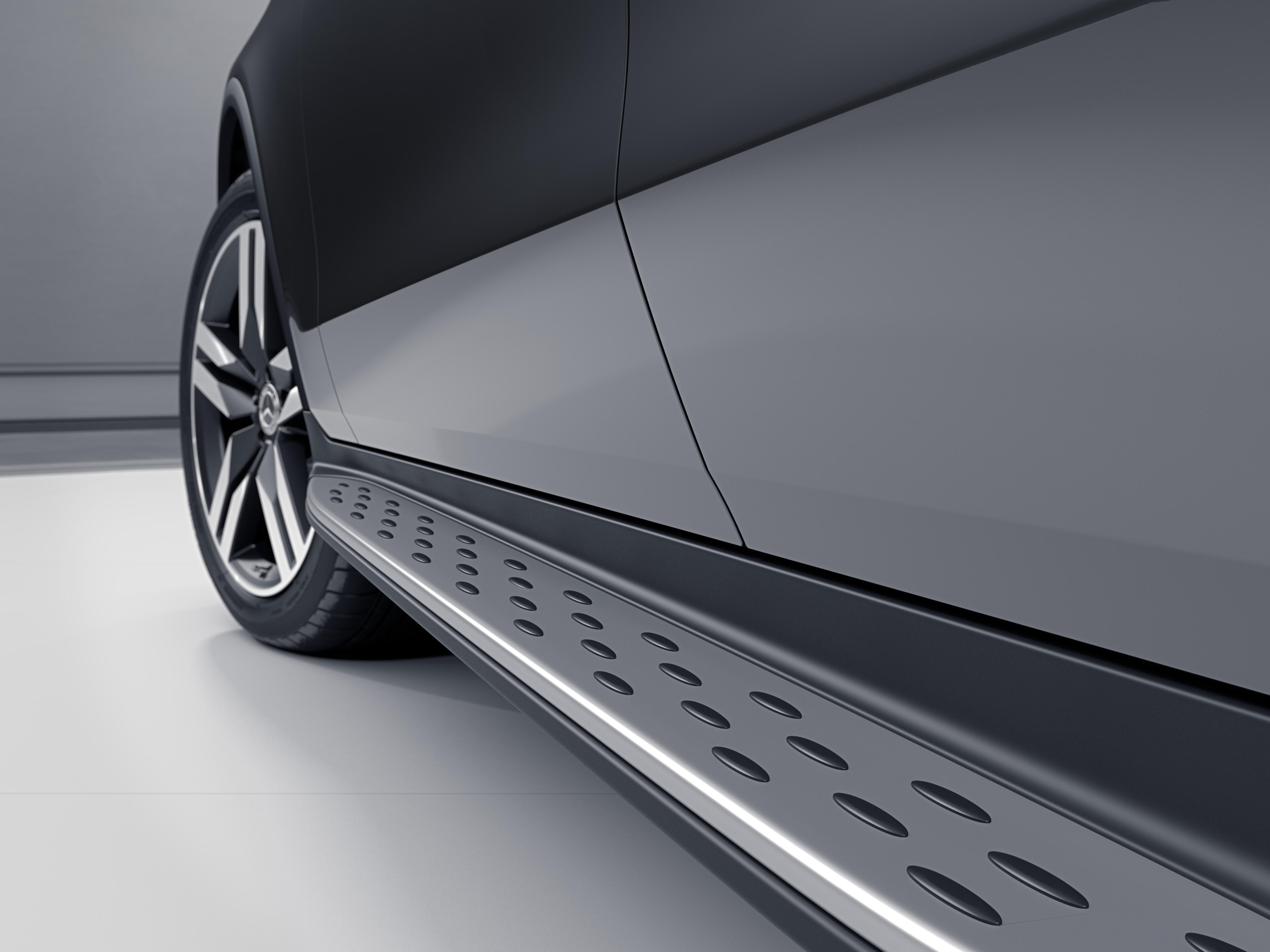 Seuil de porte de la Mercedes GLC Coupé - Finition Avantgarde
