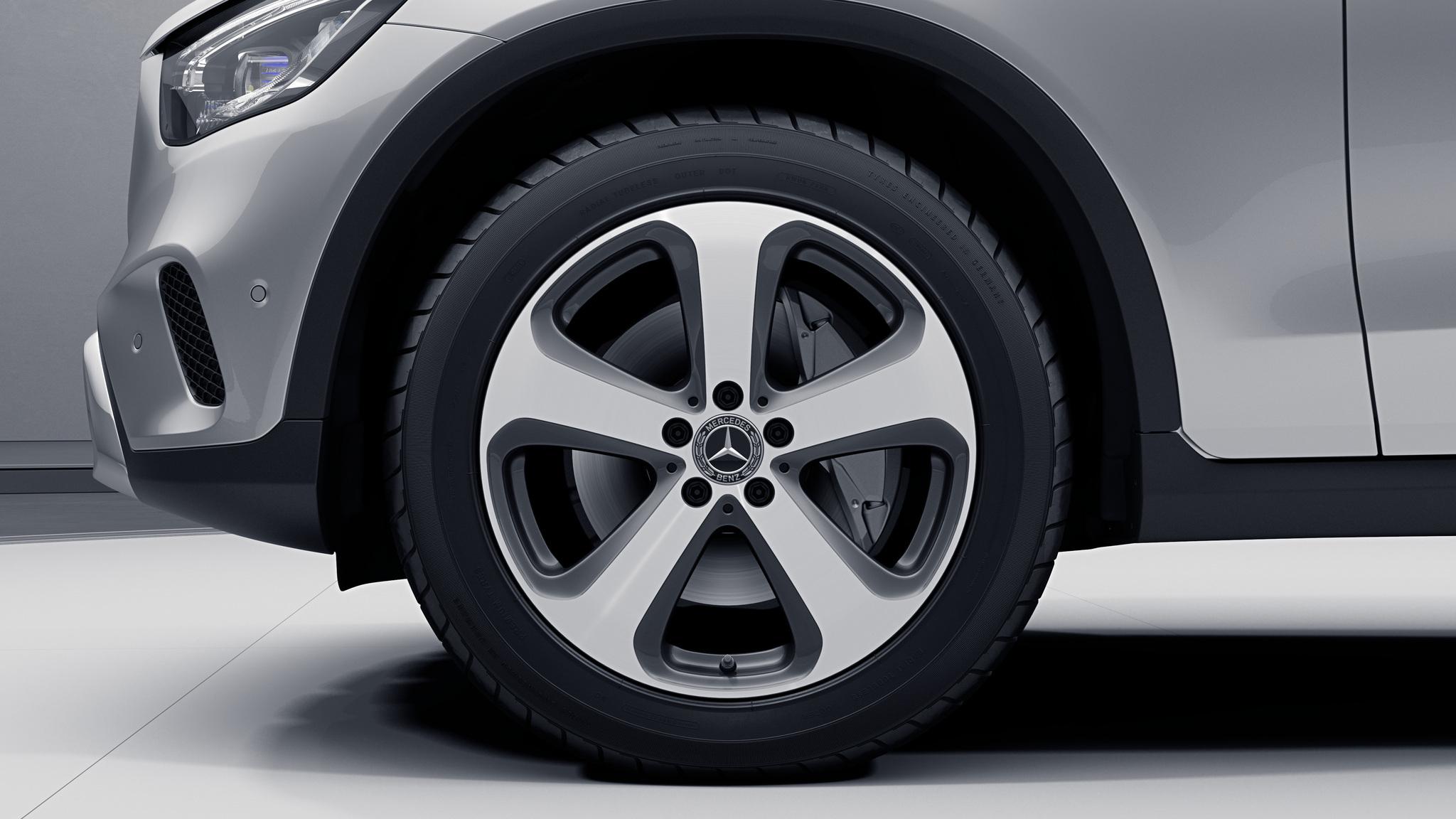 """Jantes 19"""" à 5 doubles branches de la Mercedes-Benz GLC Coupé"""
