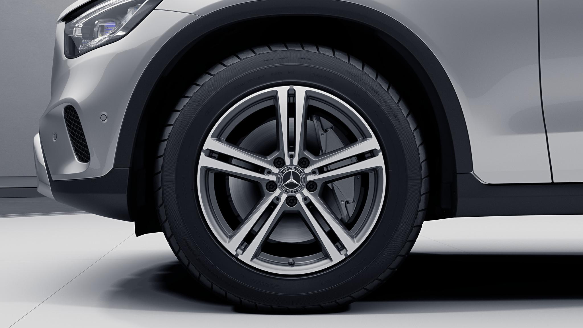 """Jantes 18"""" à 5 doubles branches de la Mercedes-Benz GLC Coupé"""