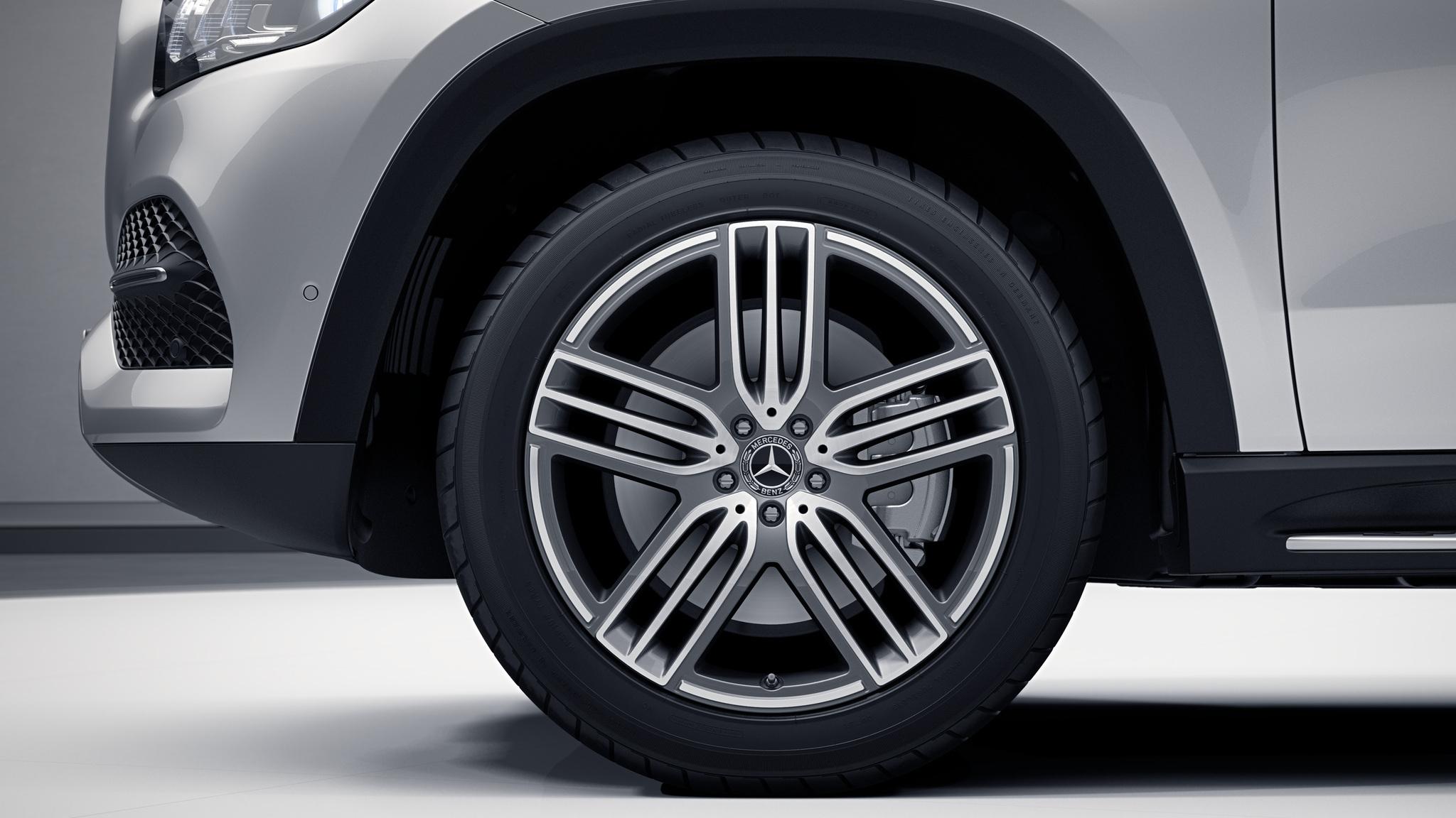 "Jantes 21"" à 5 triples branches de la Mercedes-Benz GLS"