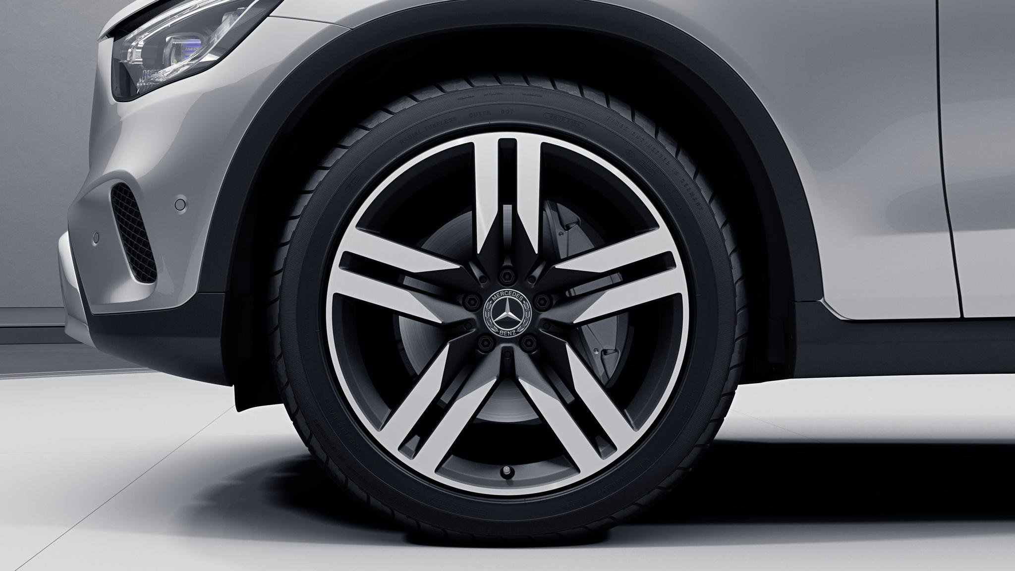 """Jantes 20"""" à 5 doubles branches de la Mercedes-Benz GLC"""