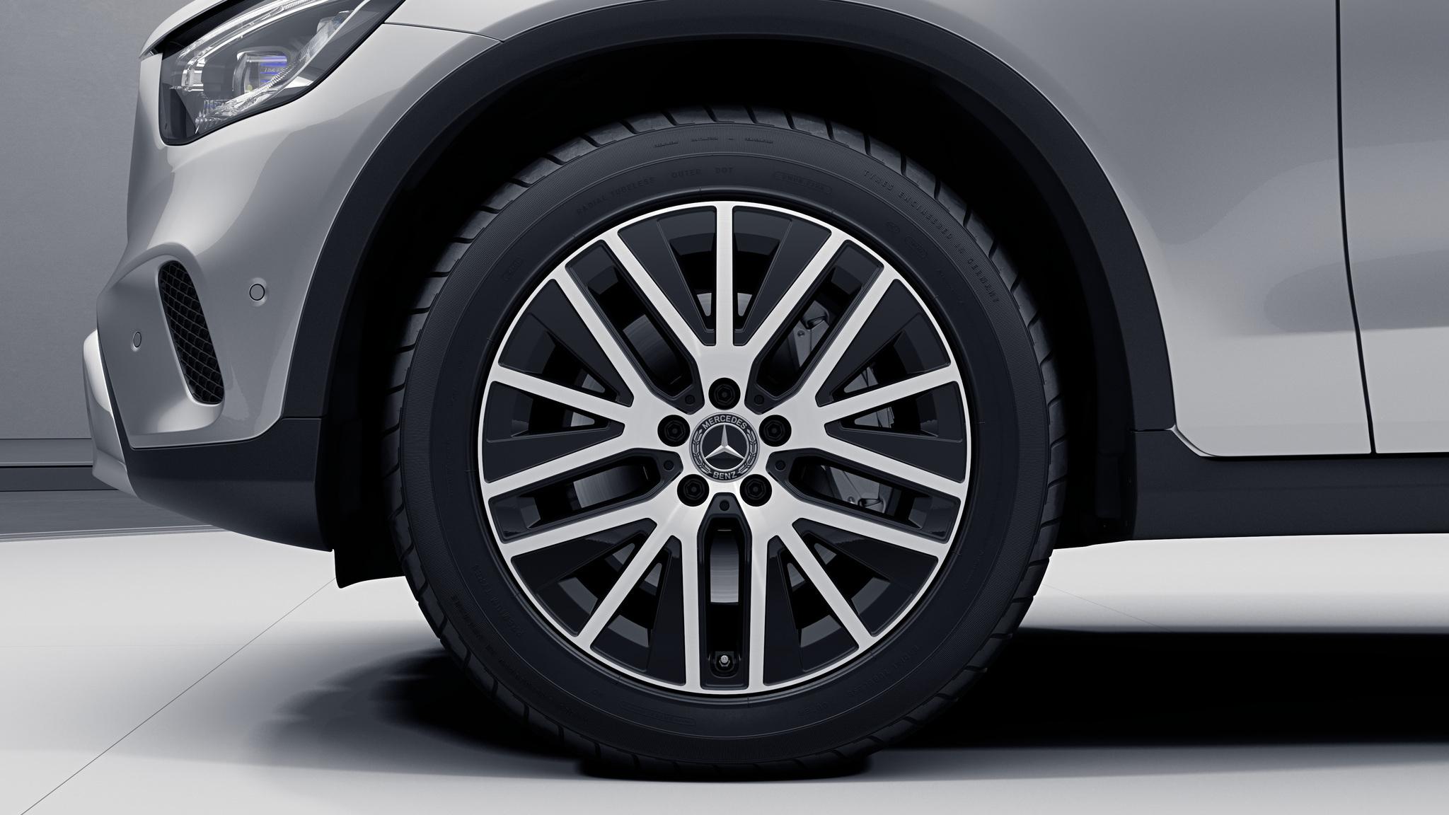 """Jantes 19"""" à doubles branches de la Mercedes-Benz GLC Coupé"""