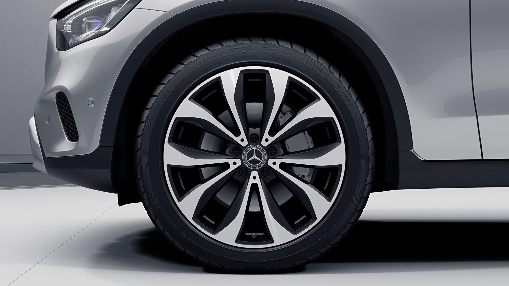 """Jantes 20"""" à 5 doubles branches de la Mercedes-Benz GLC Coupé"""