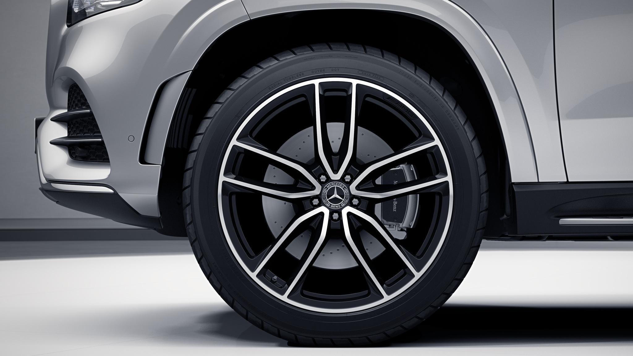 "Jantes AMG 23"" à 5 doubles branches de la Mercedes-Benz GLS"