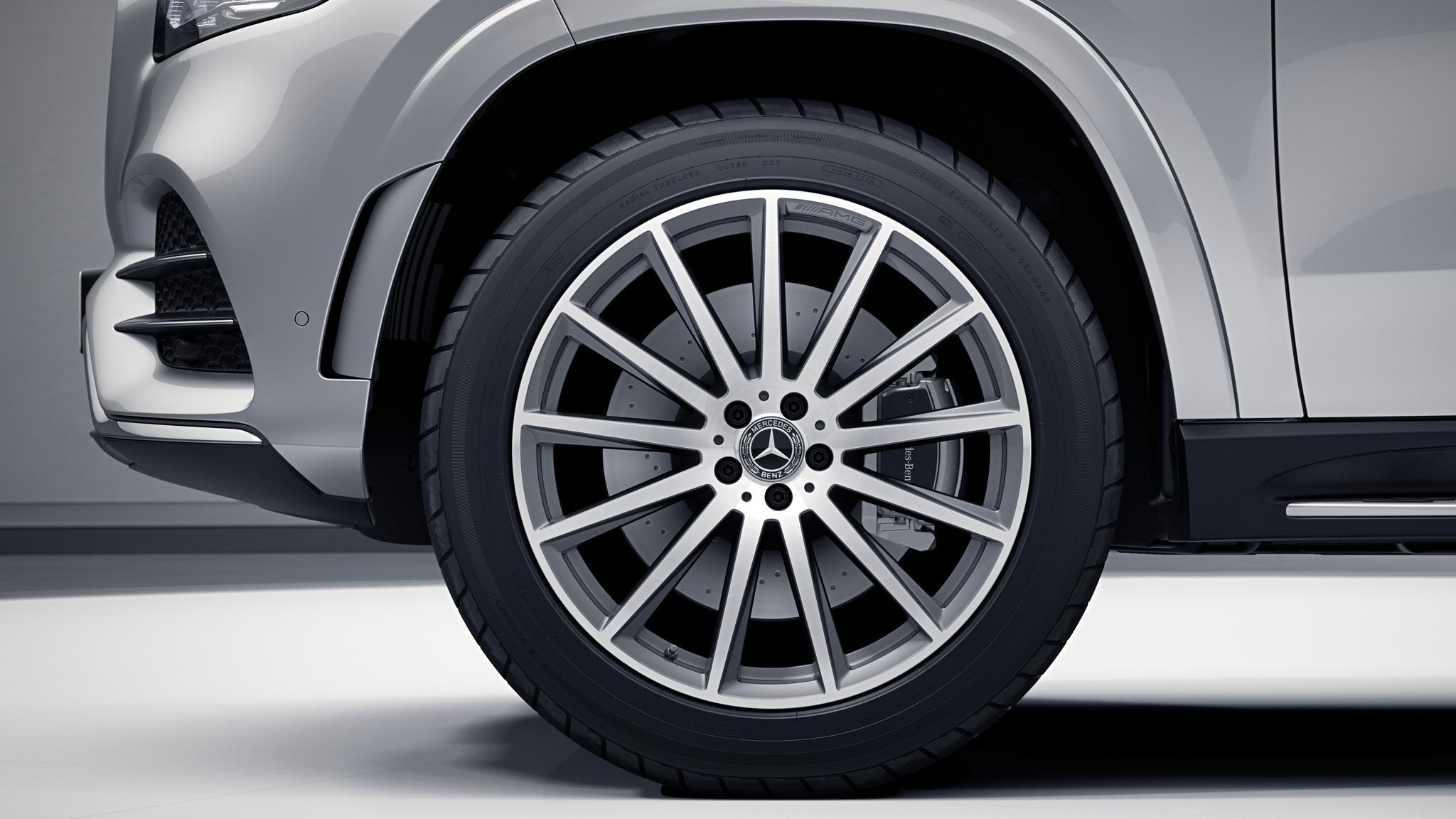 """Jantes AMG 22"""" multibranches de la Mercedes-Benz GLS"""