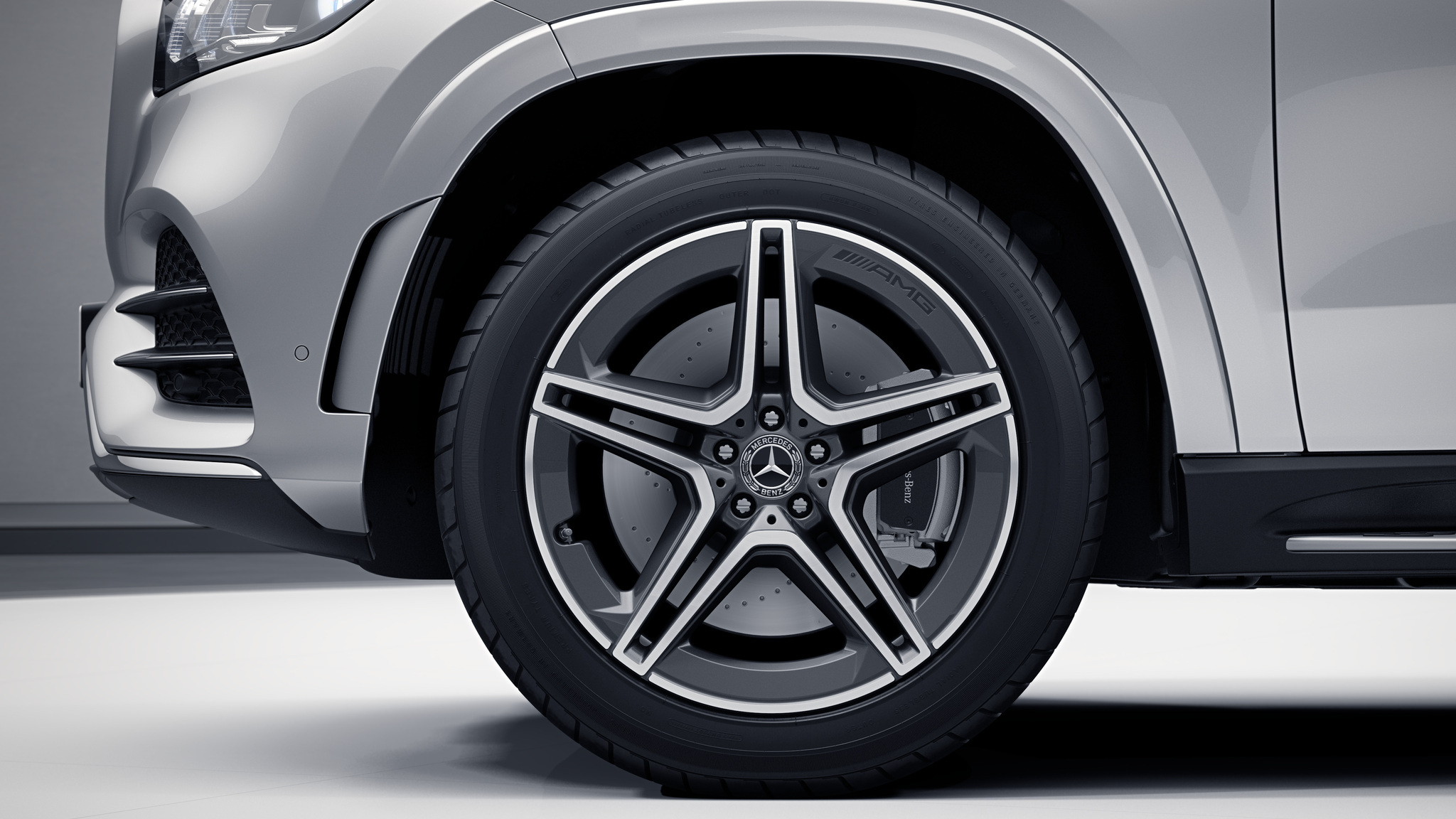 "Jantes AMG 21"" à 5 doubles branches de la Mercedes-Benz GLS"