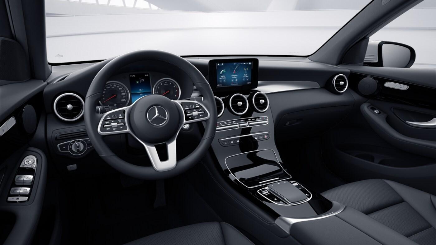 Intérieur de la Mercedes GLC Finition 4 Matic Dynamic