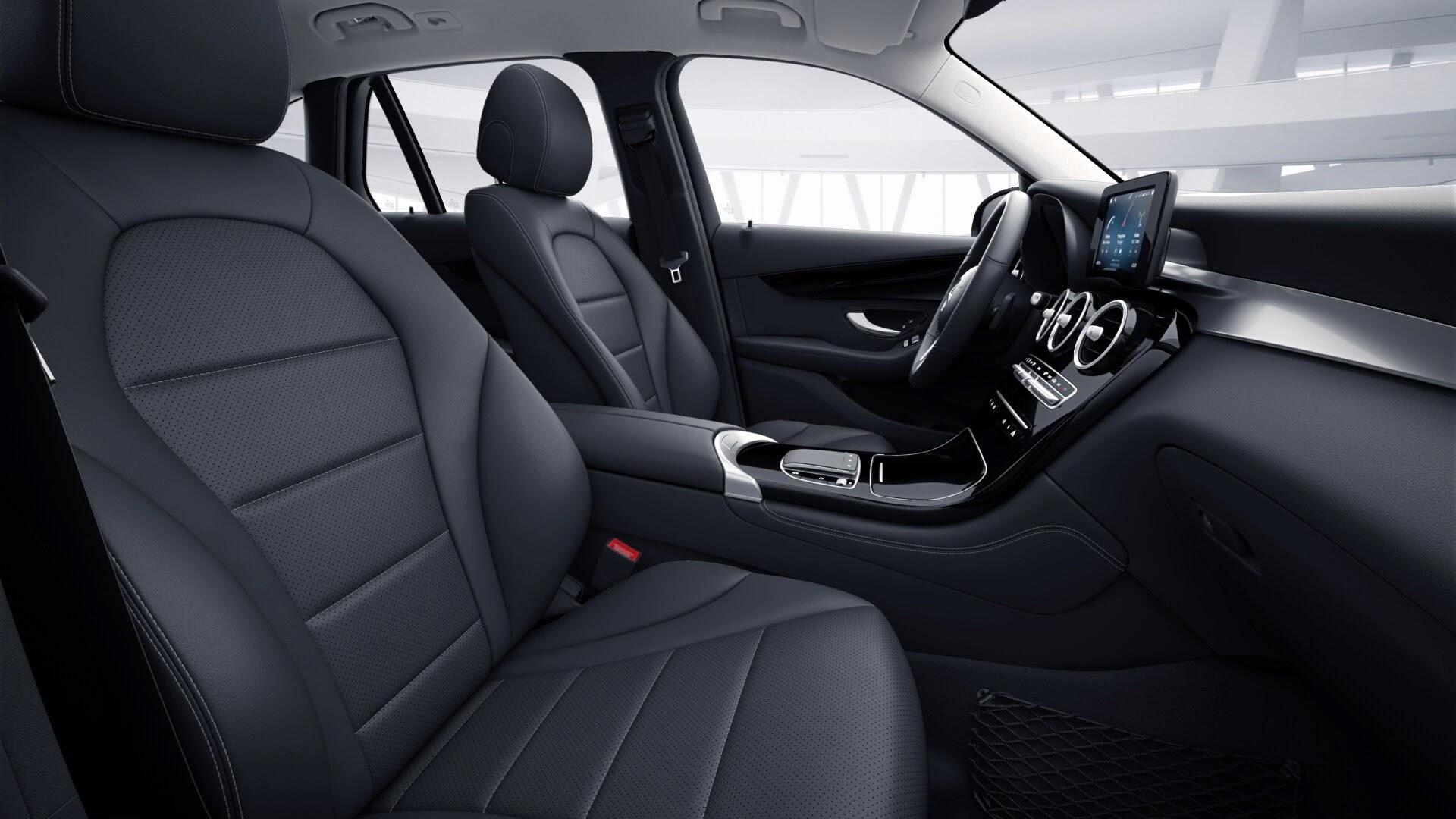 Intérieur de la Mercedes GLC Finition Dynamic