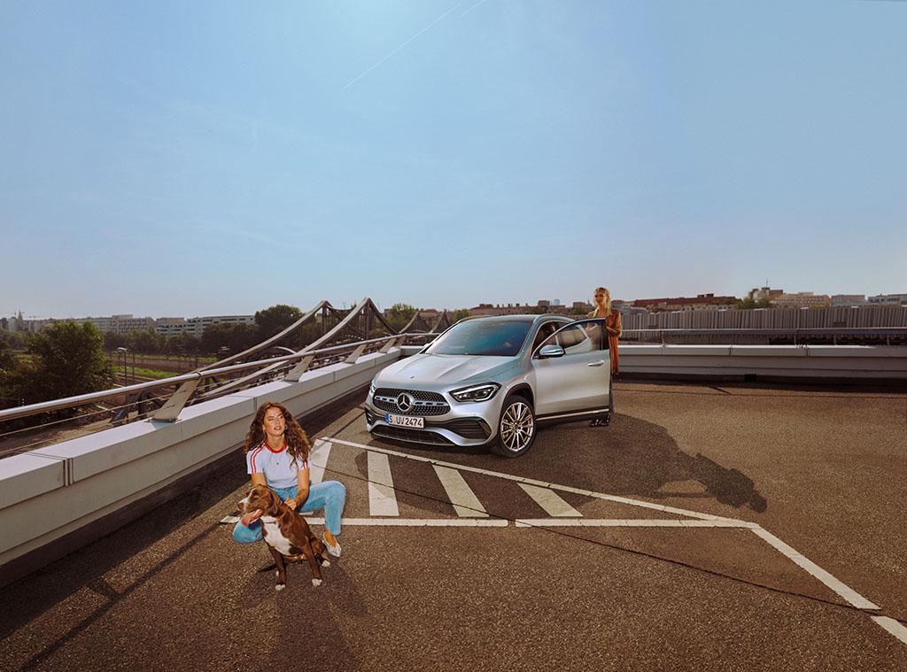 Intérieur et extérieur de la Nouvelle Mercedes GLA