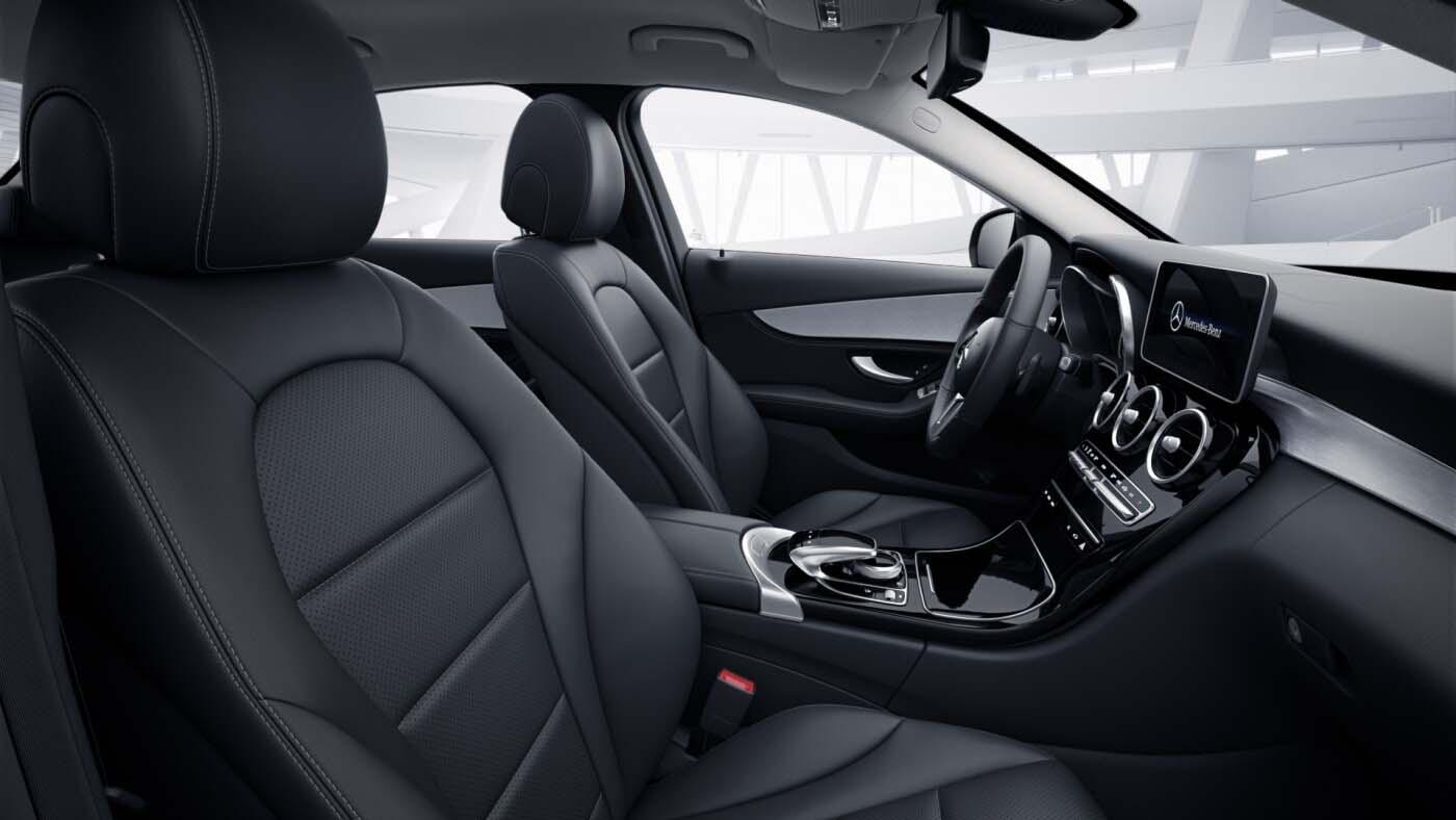 Intérieur de la Mercedes Classe C berline Finition Avantgarde plus