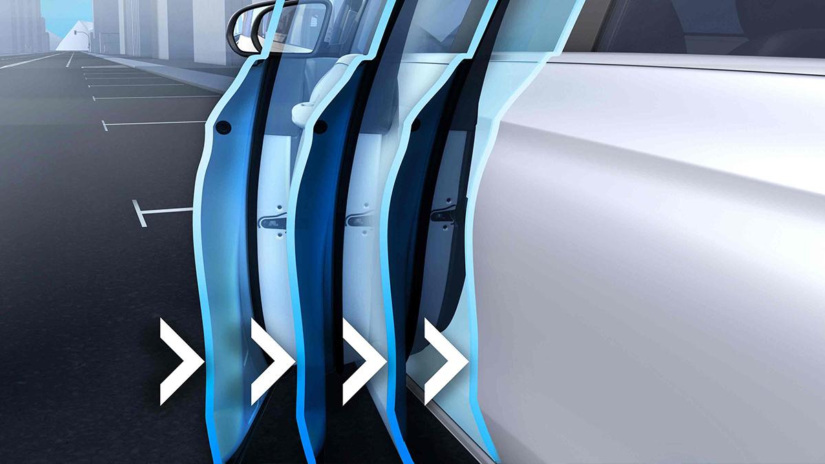 Fermeture du porte assistée de la Mercedes GLE Coupé - Finition AMG Line Plus