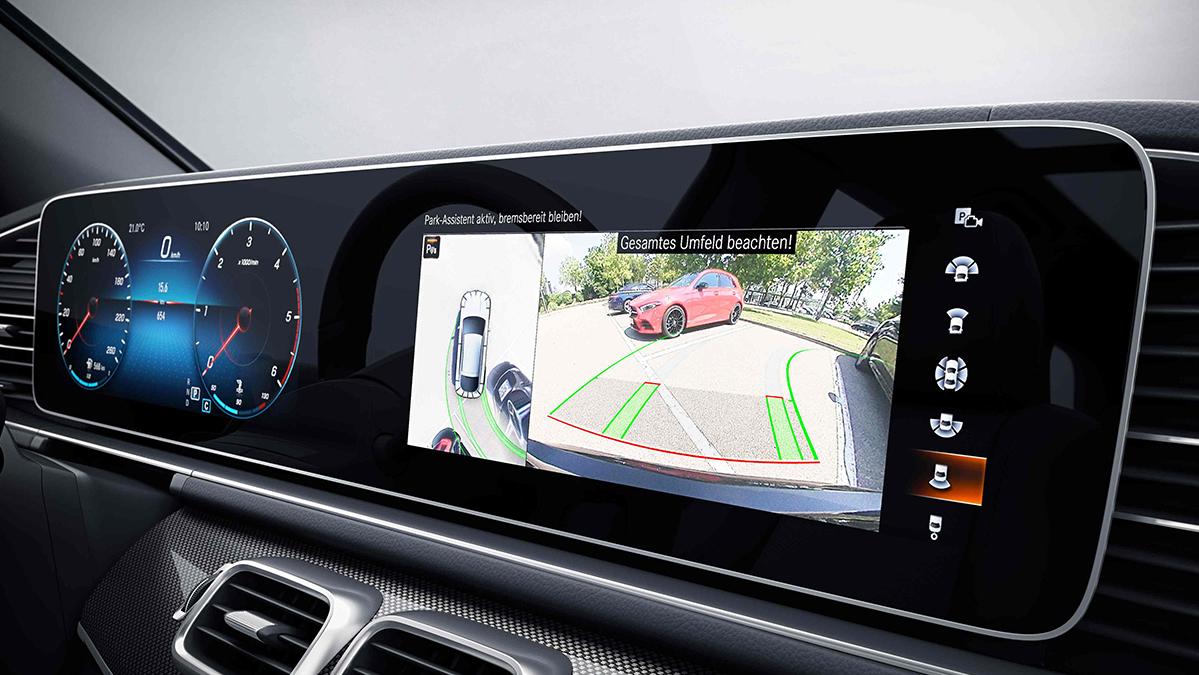 Ecran tactile de la Mercedes GLE Coupé - Finition AMG Line