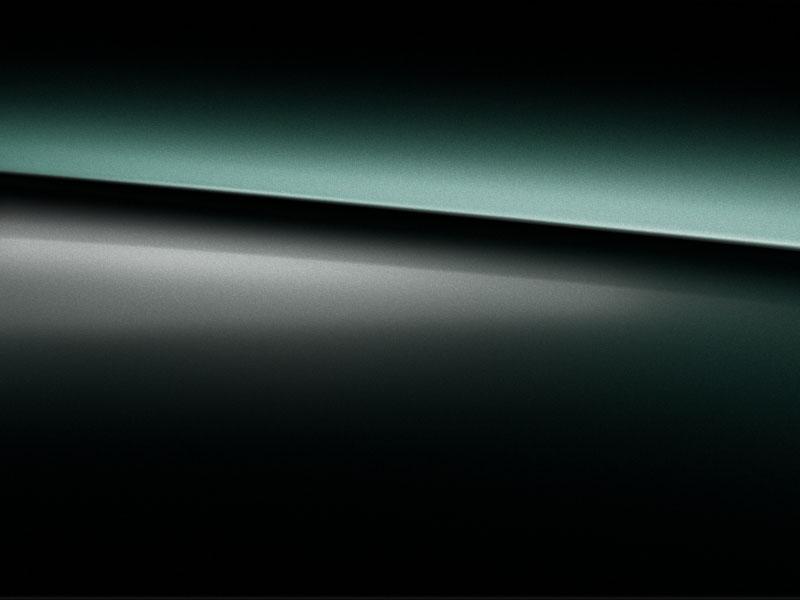 Extérieur de la Mercedes GLE Coupé - Peinture métallisée vert émeraude