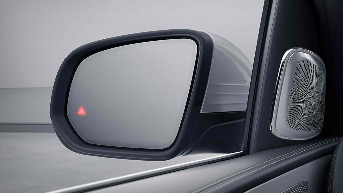 Rétroviseur de la Mercedes-Benz GLE Coupé Finition Luxury