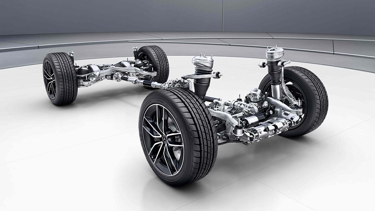 Structure interne de la Mercedes GLE Coupé - Finition AMG Line