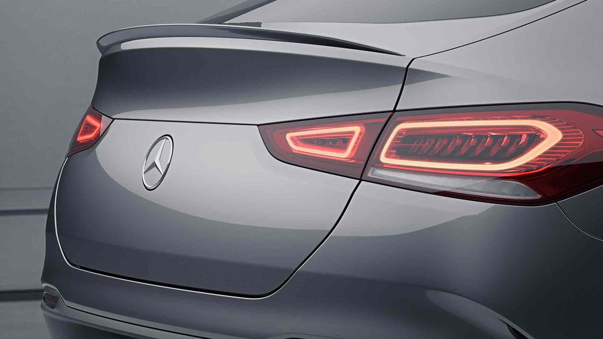 Arrière de la Mercedes GLE Coupé - AMG Line Plus