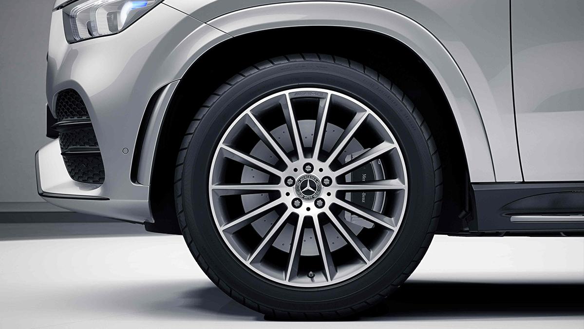 Jantes de la Mercedes GLE Coupé Finition AMG Line