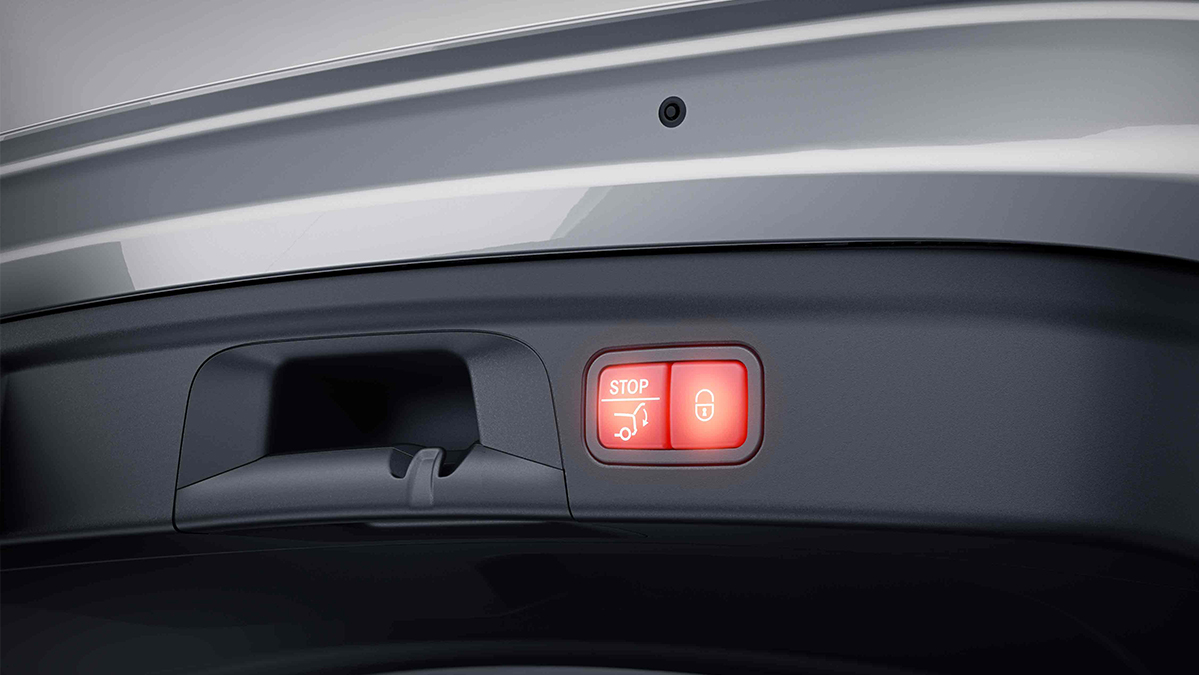 Ouverture électrique du Hayon de la Mercedes-Benz GLE Coupé - Finition Luxury