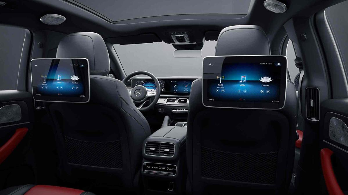 Intérieur de la Mercedes GLE Coupé -  Finition AMG Line Plus