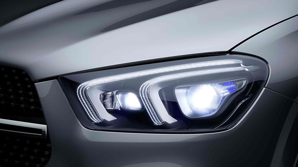 Phares de la Mercedes GLE Coupé - Finition Luxury
