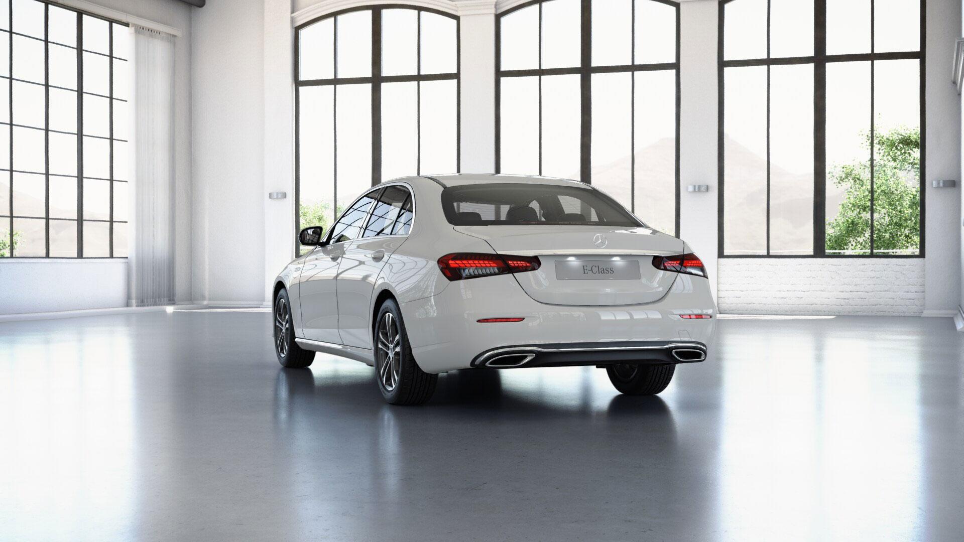 Jantes de la Mercedes Classe E Finition Business