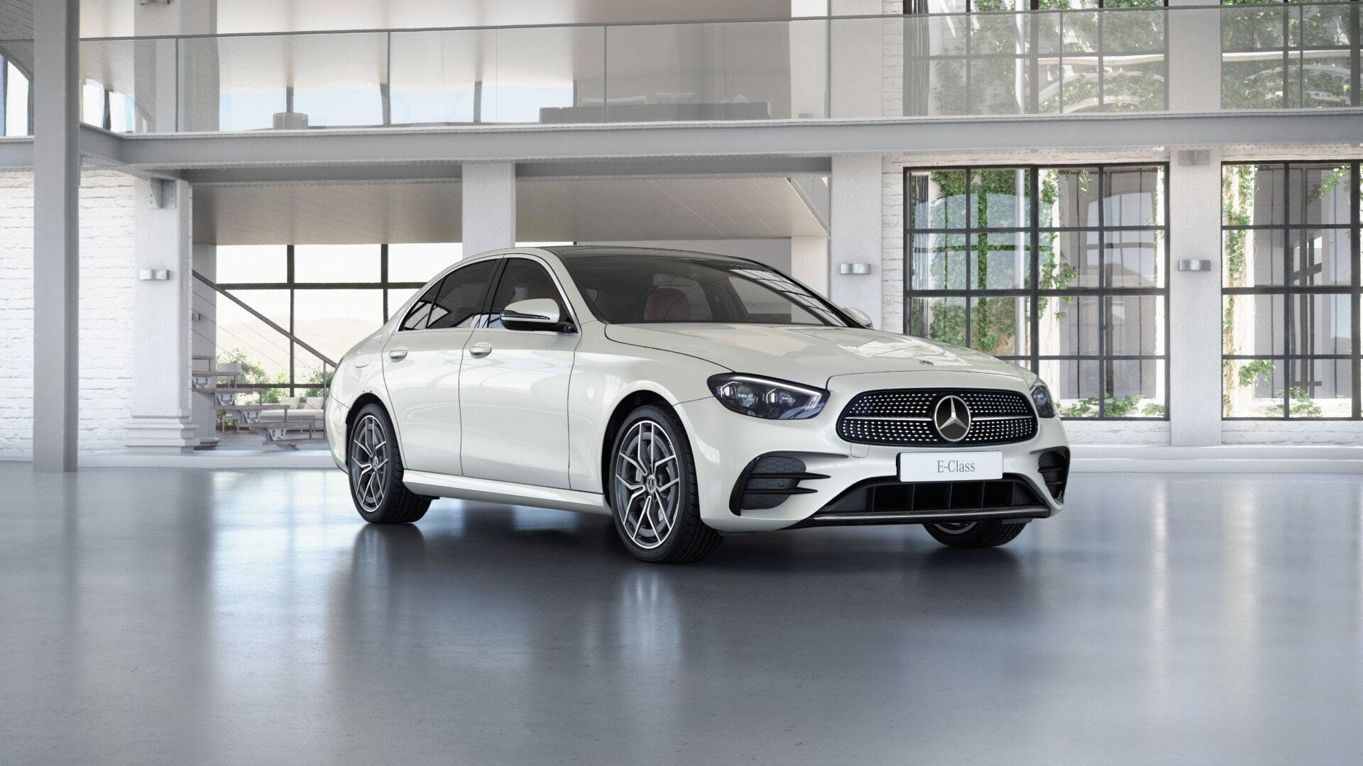 Extérieur de la Mercedes Classe E Finition AMG Line
