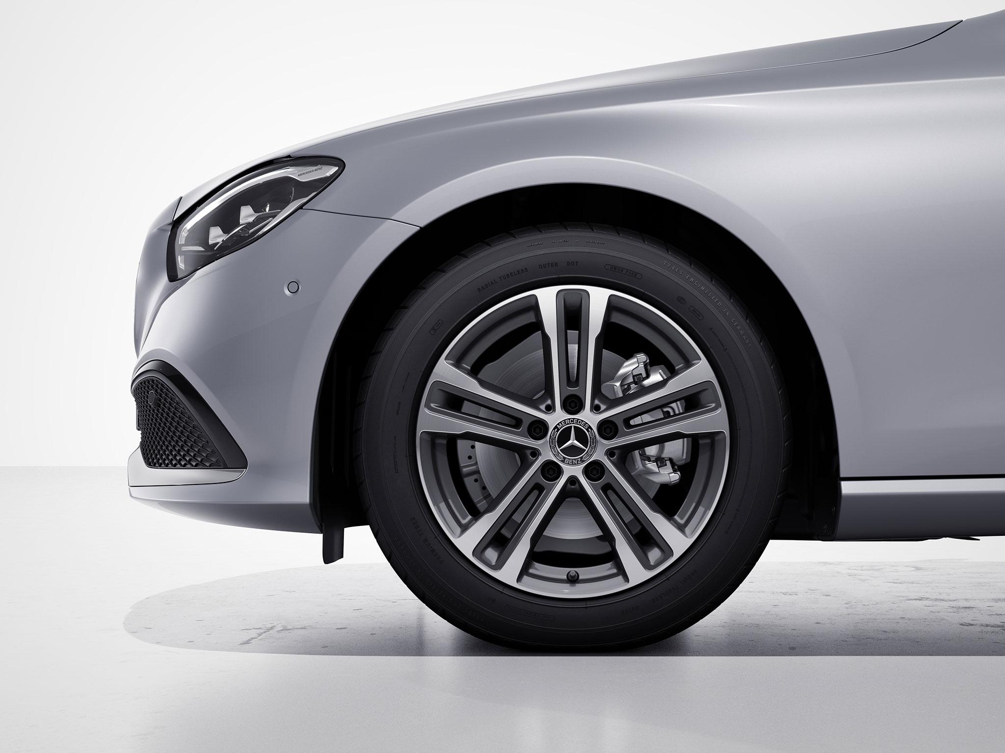 Intérieur de la Mercedes Classe E Finition Business