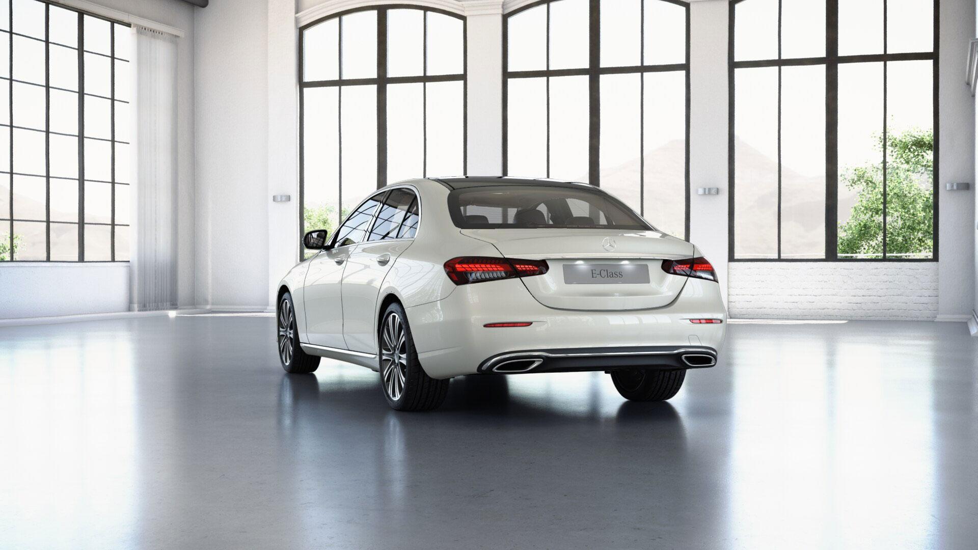 Jantes de la Mercedes Classe E Finition Luxury